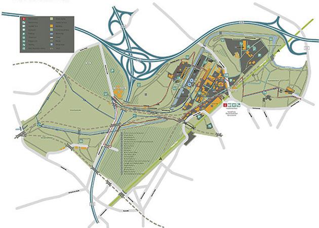 Park paisajstico Duisburg arquiscopio archive