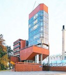 Leicester University, Engineering Building, James Stirling Architect.