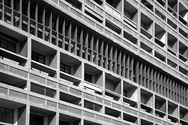 Unidad de Habitación de Marsella. Le Corbusier. 1952