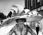 Sombrero pamela para un baile de Carnaval