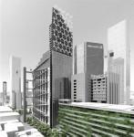 Propuesta para la Torre David de Caracas. Urban Think Tank