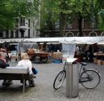 Usuarios del Spuiplein en Ámsterdam. Foto: Bobindrums, Flickr