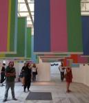 Interior del Pabellón de Estados Unidos. Bienal de Venecia, 2012. Imagen: Dezeen
