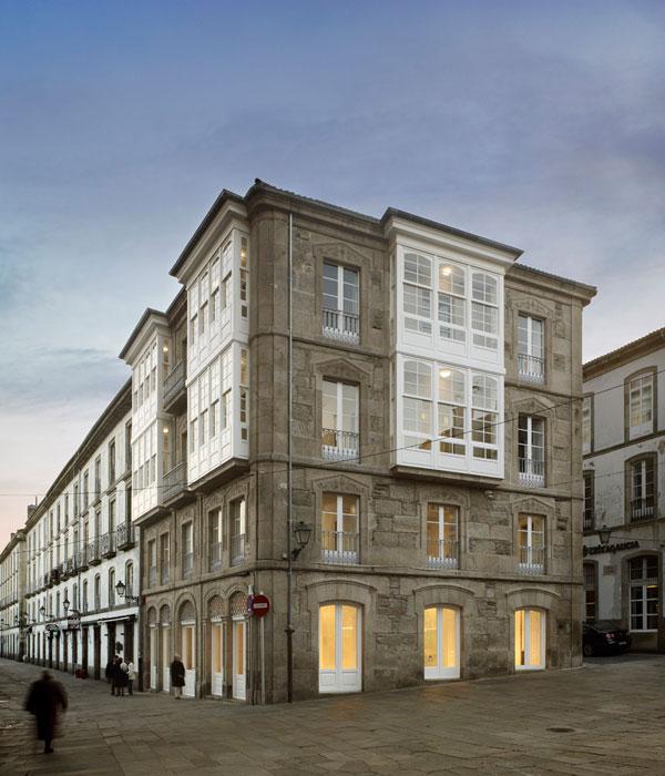 Rehabilitaci n para hotel en la rua altamira arquiscopio - Arquitectos en santiago de compostela ...