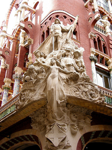 The Palau de la Música Catalana | ARQUISCOPIO