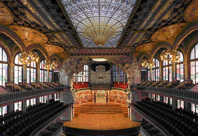 The Palau de la Música Catalana  ARQUISCOPIO