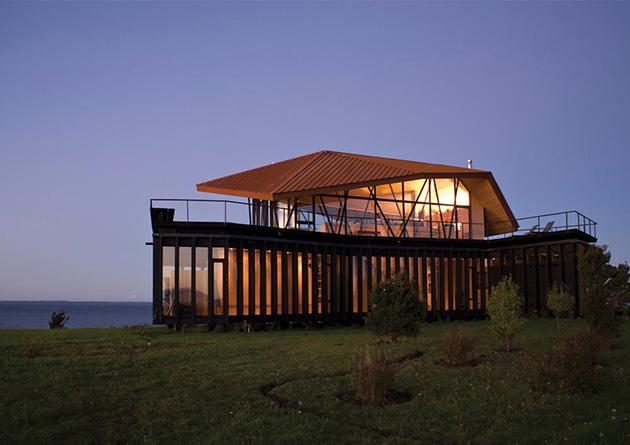 La arquitectura residencial de drn arquitectos arquiscopio for Arquitectura de madera
