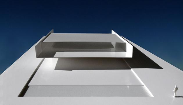 La arquitectura silvestre arquiscopio for Casa minimalista maqueta